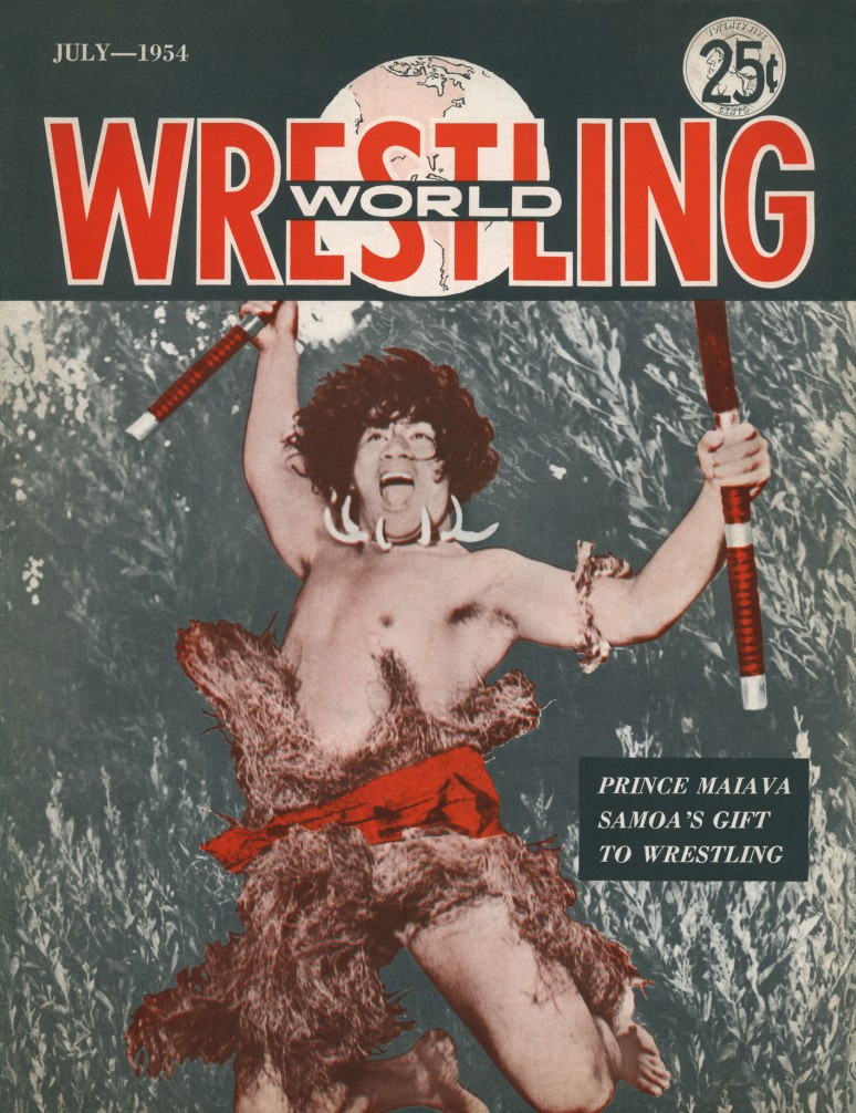 a front cover - Wrestling World (1934-07) (Darwin.HIRES)