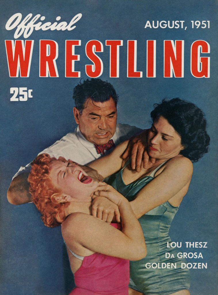OfficialWrestling1951-08p01