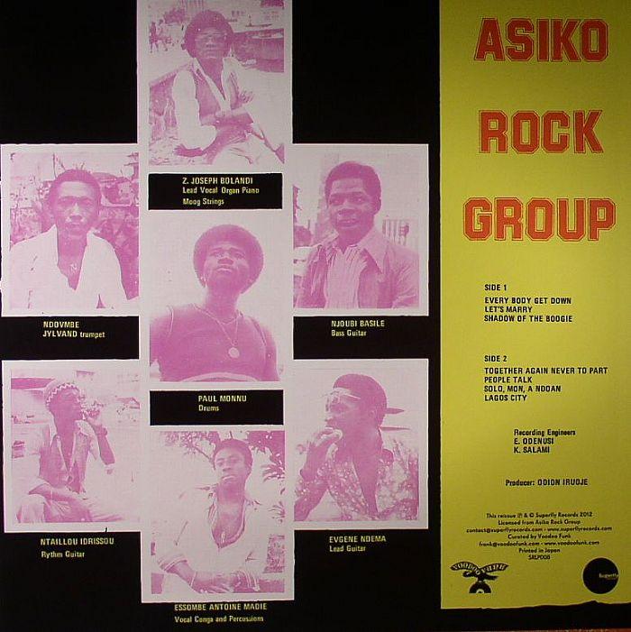 Asiko Rock Group back