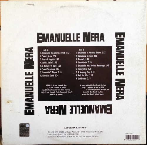 Emanuelle Nera back