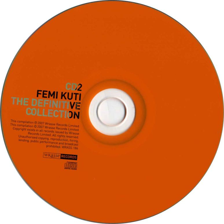 Femi Kuti - Definitive Collection_CD2
