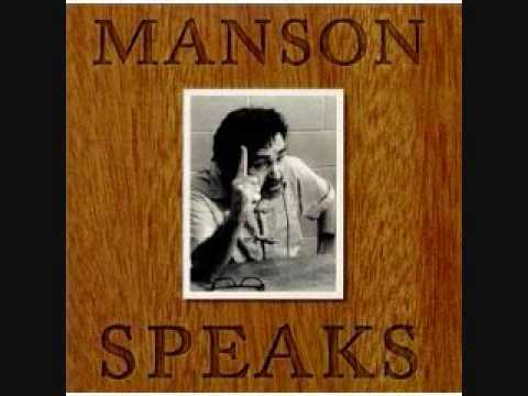 Manson speaks